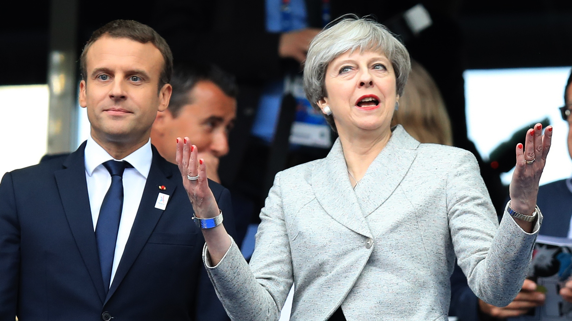 Macron Tells May 'Door Always Open' For UK To Stay In EU