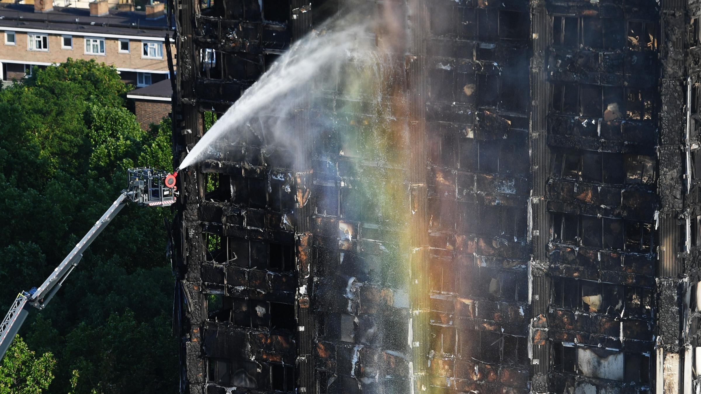 London's Grenfell Tower fire death toll rises to 17